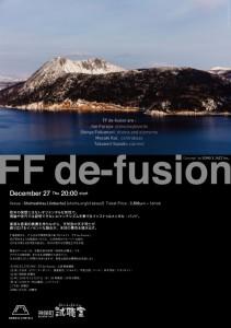 FF de-fusion
